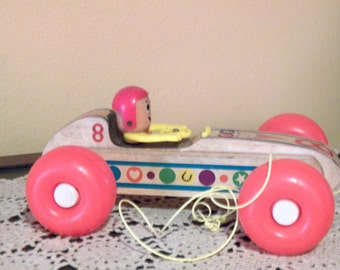 Fisher-Price #8 Bouncy Racer, 1960-1970