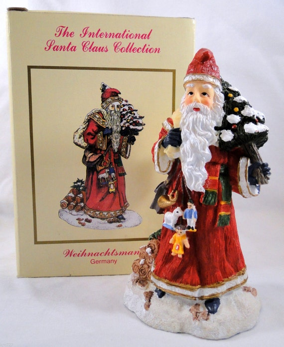 International santa claus collection figurine by krcscloset