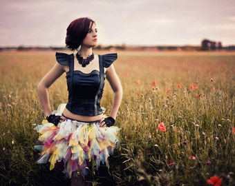 Tutu Skirt - Fraise au Loup - Rainbow - Color