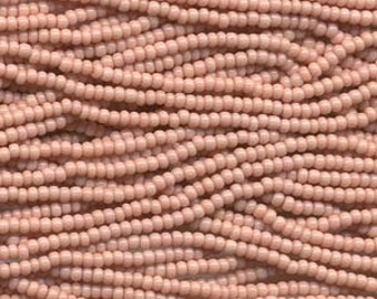 Seed Beads, 11/0, 6 String Hank, Mini Hanks, Op Pink, Value, Glass Beads, 18 Grams, Appox. 1000 Beads, #0025