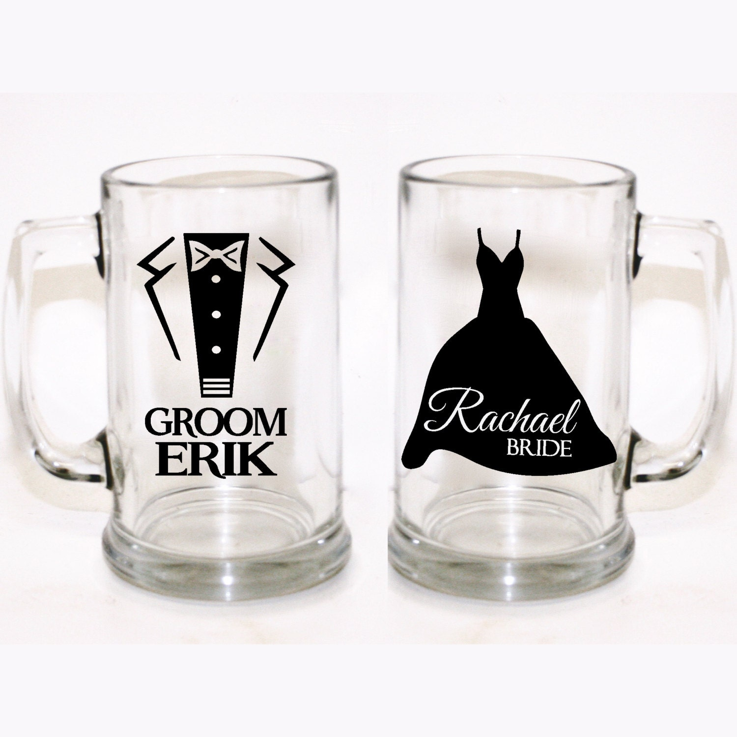custom bride and groom glasses custom wedding glasses custom