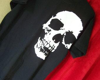 BIG SKULL TSHIRT Gothic Skull Shirt