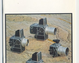 Hasselblad Camera Catalog -1960s featuring 500C 500EL SWC