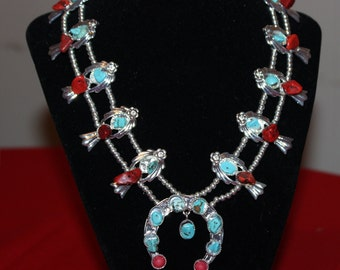ELVIS PRESLEy style Squash Blossom NECKLACe--- SOLD OUT NEw ones soon