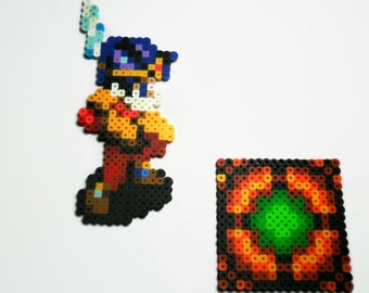 Soul Blazer bead sprite set - Super Nintendo video game sprites - geekery