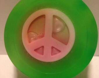 Hippie soap - Peace sign soap - Kids soap