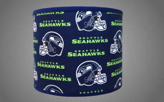 Nfl Seattle Seahawks Trendy Drum Lamp Shade By