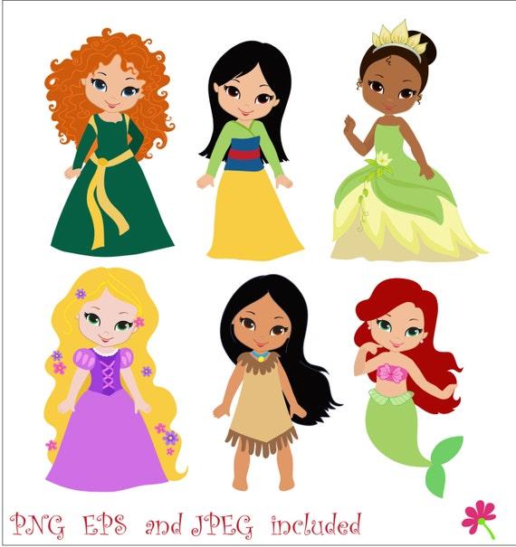 clipart princesas disney - photo #14