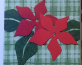 Quickutz Poinsettia Flower Die Cuts
