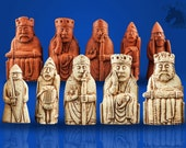 Lewis Chessmen Beserker from the Scottish Museum