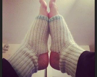 Knitted Yoga Socks.
