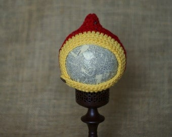 READY TO SHIP-Chinstrap Pixie Hat