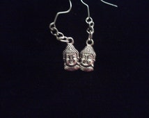 Small Buddah Earrings