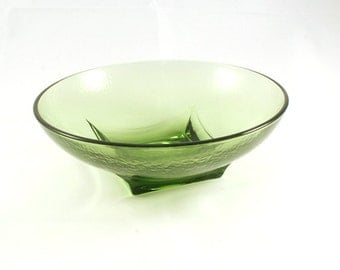 Vintage Green Candy Bowl