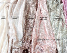 SALE! Choose your Color & Size Sequin Tablecloth , Wedding table runner tablecloth, Custom chevron sequin table runner , wholesale