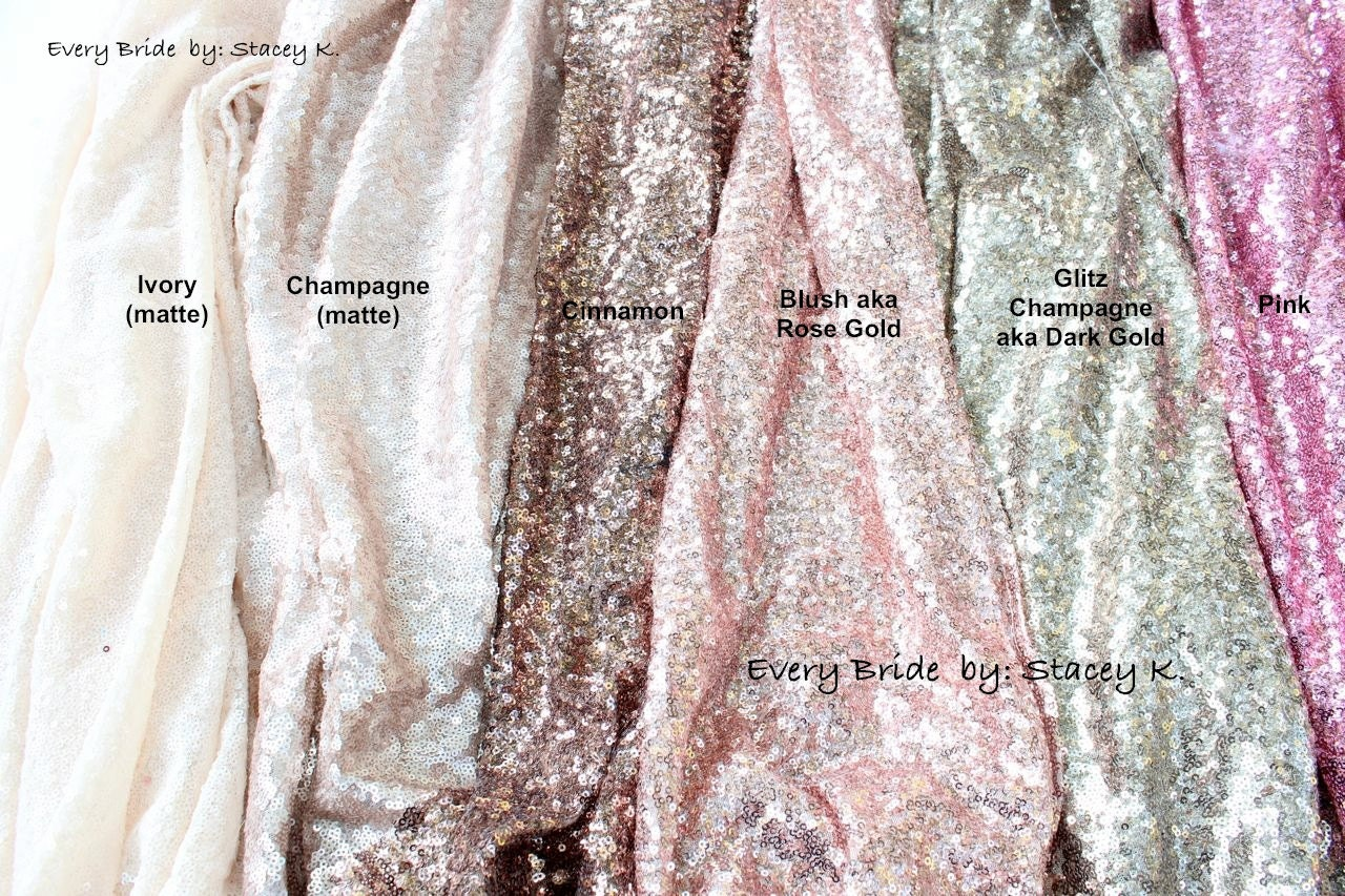 choose your color u0026 size sequin tablecloth wedding table runner tablecloth custom