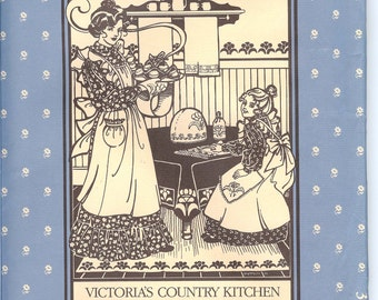 Folkwear 301  UNCUT Victoria's Country Kitchen  Sewing Pattern   ID648