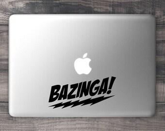 Bazinga MacBook Decal