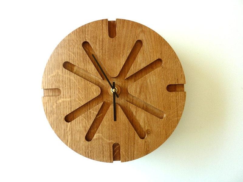 Wood Wall Clock Unique Wall Clock Wood Wall Decor Modern