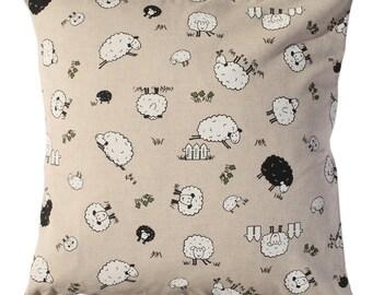 Little sheep Pillow cover.