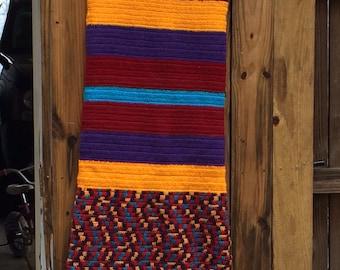 Crochet Large Rectangle Shawl