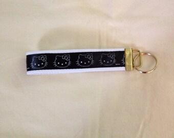 Hello Kitty key fob holder