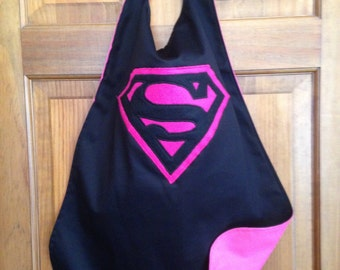 SUPERGIRL Kids Superhero Cape/Costume