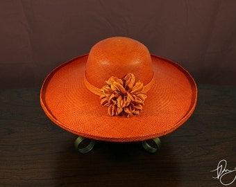 30% off Panama Hat Super Alon Orange - Original price 115 CAD