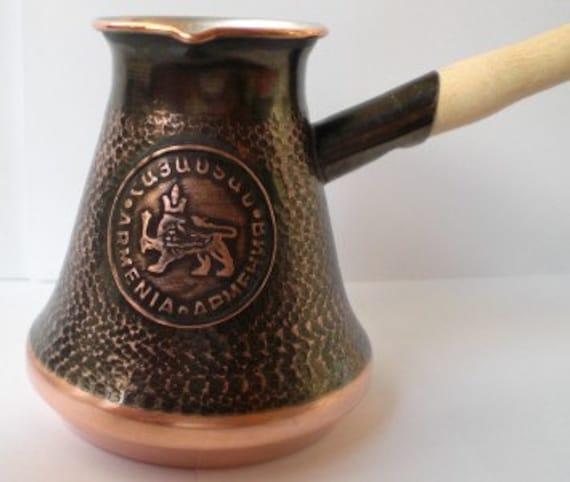 Armenian HANDMADE coffee maker turkish coffee maker
