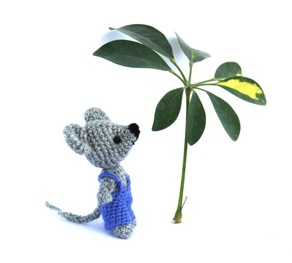 little mouse doll small amigurumi mouse crochet mouse funny