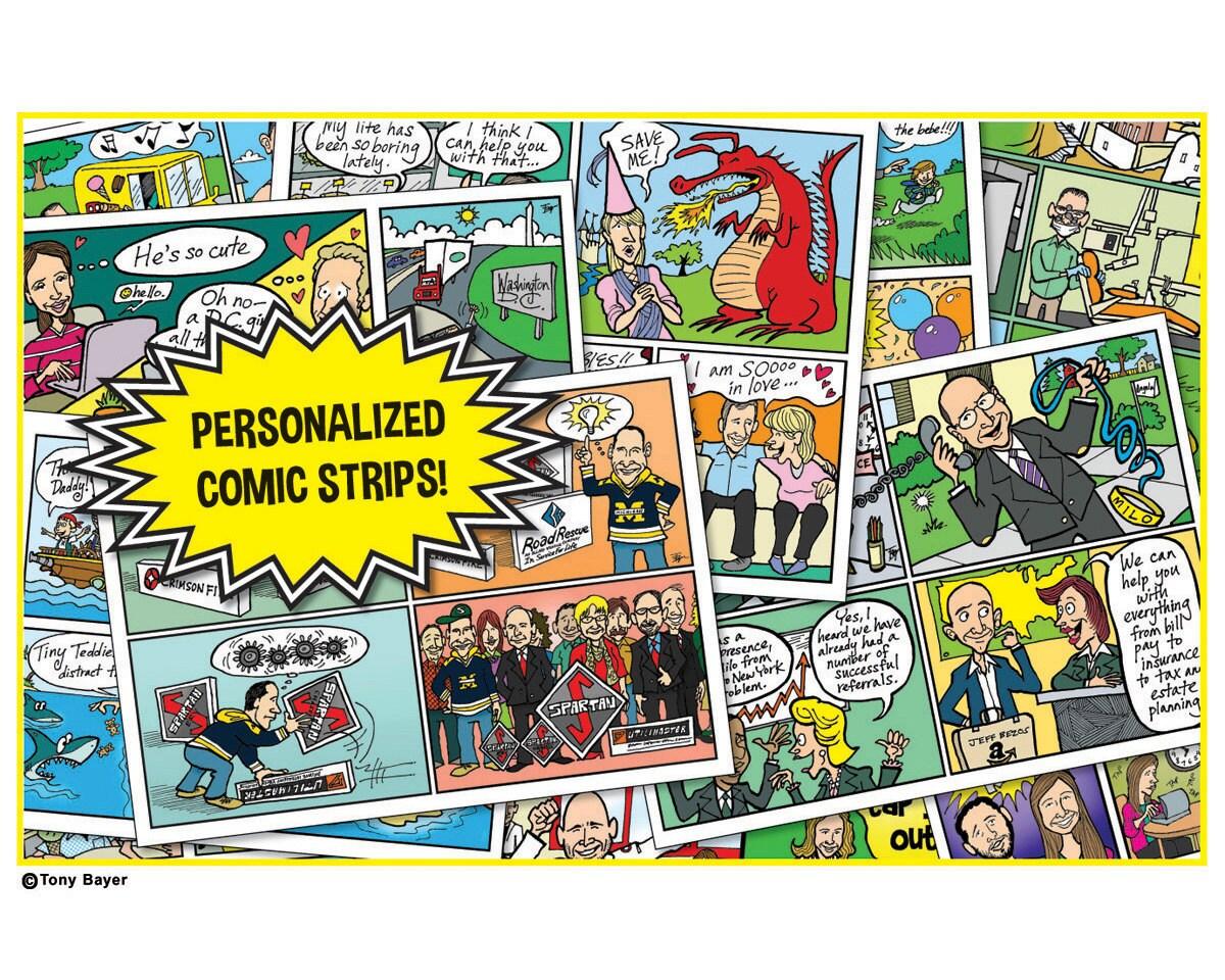 Custom comic strip