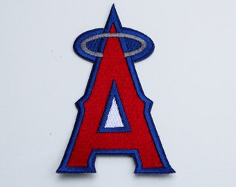 Anaheim Angels California Angels Patch....Iron On about 3 x 2 inches