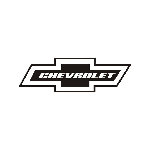 Chevy Bow Tie Emblems Decal