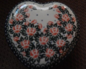 Polish Stoneware Heart