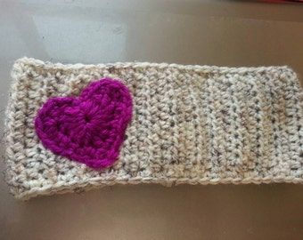 Crochet headwarmer / made to order