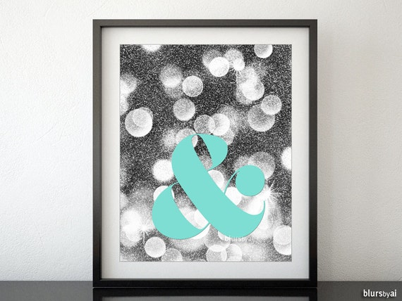 Items similar to ampersand printable ampersand print for Ampersand decoration etsy
