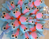 Felt Owl Ornament For Special Days (magnet,key holder,broches) (with tracking number)