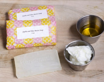 Jojoba and Shea butter soap