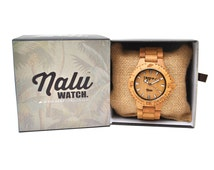 NALU watch  - 100% Bamboo Watch