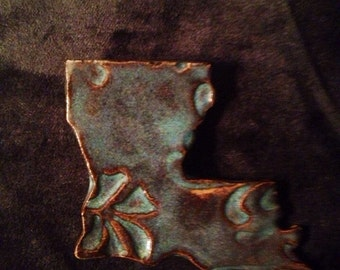 Louisiana Pottery Magnet