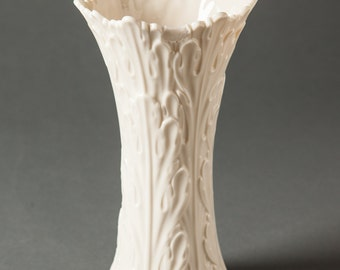 Lenox Vase with Woodland Pattern.