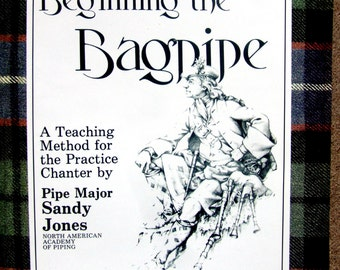 Beginning the Bagpipes, How to bagpipe instruction book