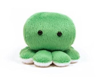Green Octopus Plush