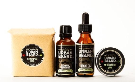 organic vegan friendly beard grooming gift pack. Black Bedroom Furniture Sets. Home Design Ideas