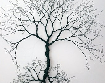 Wire wall Art tree of life ( wall decoration). Wire art, Wall art, Wire tree, Wall tree, Decorative wire art