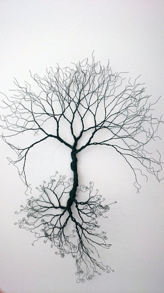 Custom made-Wire wall Art tree of life wall decoration-Wire