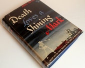 Rare Vintage First Edition of Death Loves A Shining Mark by Anne Hocking (Doubleday Crime Club, 1943)