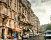 Paris Street Photography, Paris, France, France Travel Photography, 8x10, 11x14, 16x24, 20x30, Home Decor