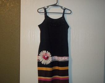 Beautiful sundress/ Dress/ Girls/ Easter,Birthdays, Summer Wear, Outtings size 5/6 Handmade by Mvious Da'Zigns