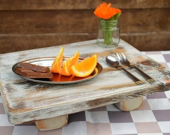 Rustic Wooden cutting board Wooden Tray Serving Platter Recycled wood cutting board Woodwork Ready to ship